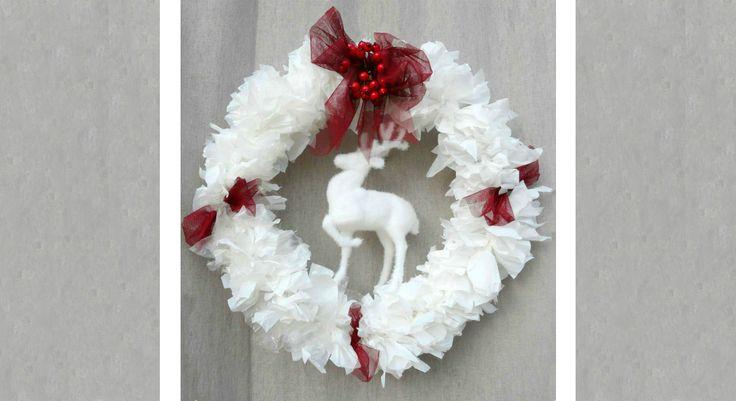 Pas chères et super décoratives, les couronnes de Noël à faire soi-même, on adore ça ! Avec un brin de fantaisie et une idée toute simple, la blogueuseAzelys a imaginé une couronne de Noël ...