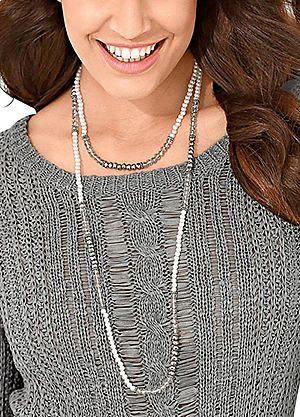 Creation L Bead Necklace #kaleidoscope #jewellery