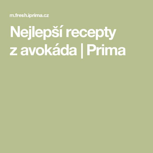 Nejlepší recepty zavokáda  | Prima