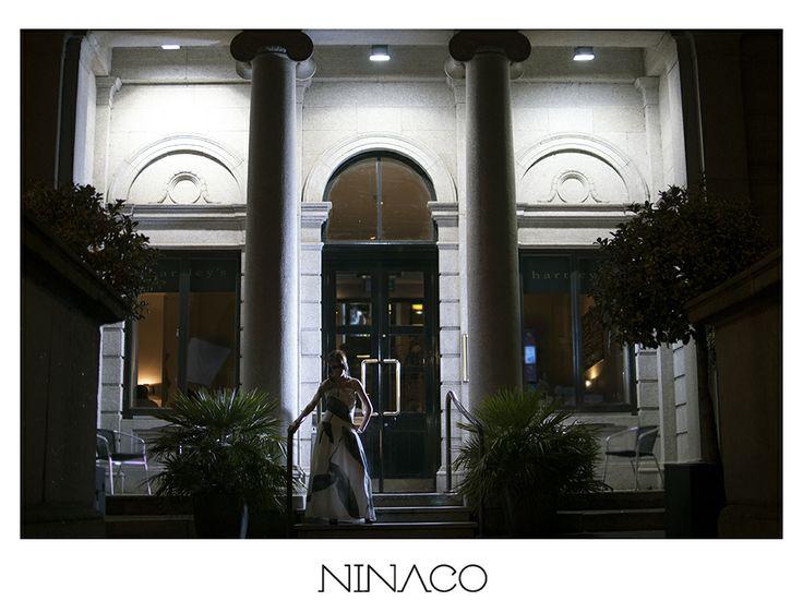 Ninaco recycled print dress made of vintage Marimekko curtains  www.ninaco.co