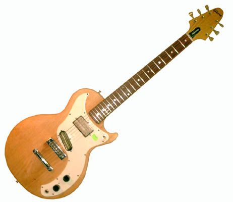 Discontinued Model: 1975 Gibson Marauder, owned by Masafumi Gotoh of Asian Kung fu Generation.