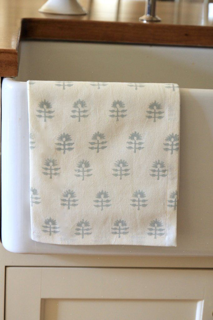 Light Blue Dahlia Tea Towel Jsh Home Essentials Tea Towels Cotton Tea Towels Towel