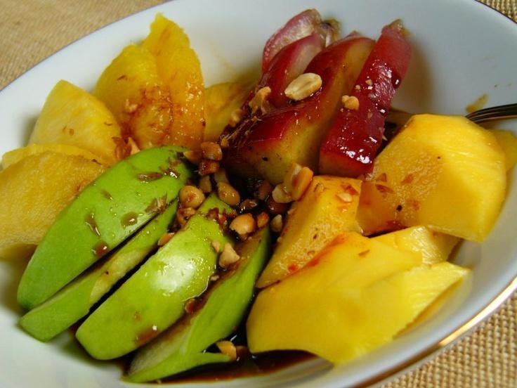 indonesian food fruit - rudjak