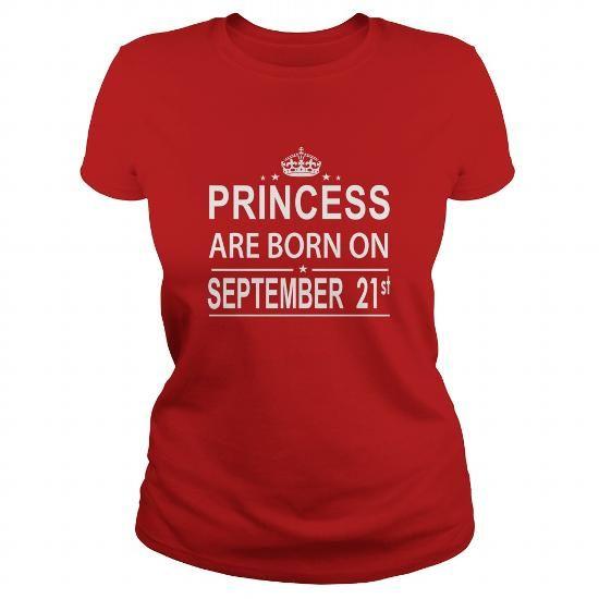 Cool 0921 September 21 Birthday Shirts Princess Born T Shirt Hoodie Shirt VNeck Shirt Sweat Shirt Youth Tee for Girl and Men and Family T shirts