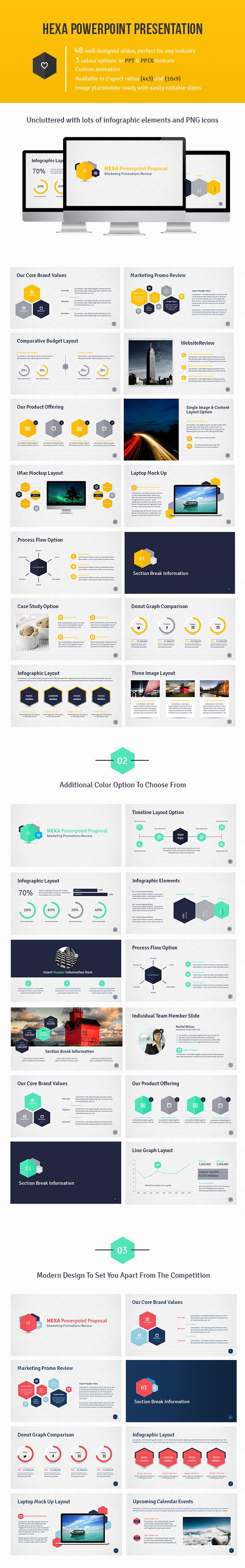 Hexa Powerpoint Presentation on Behance