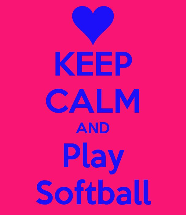 KEEP CALM AND Play Softball - KEEP CALM AND CARRY ON Image Generator - brought to you by the Ministry of Information
