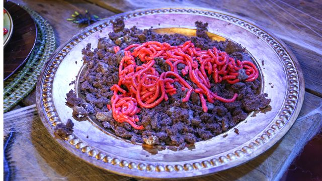 RECIPE: Worms and Dirt #Halloween #Recipe