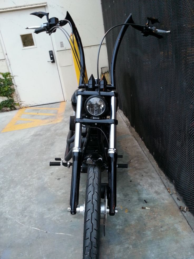 Dyna Ape Hangers photos ? - Page 9 - Harley Davidson Forums
