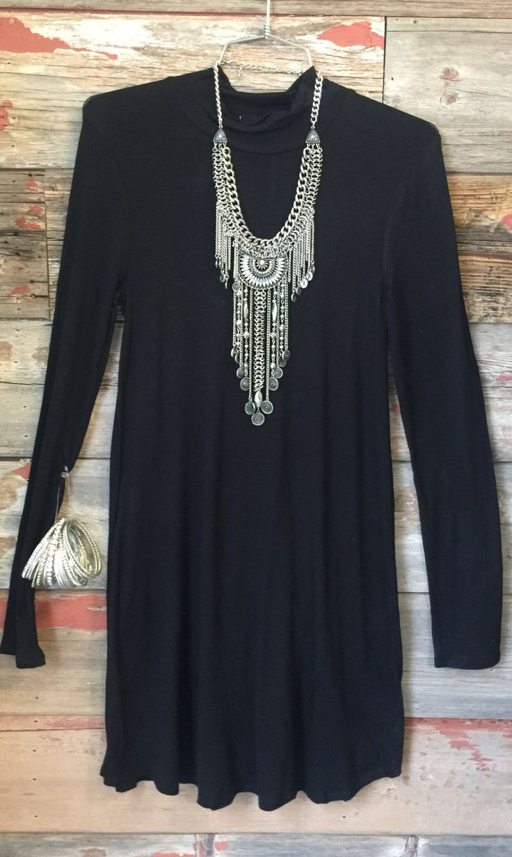 More than You Know Dress: Black from privityboutique