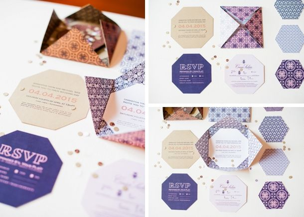 Rose Quartz Stationery for styled shoot by Yolande Snyders & Yellow Papaya | SouthBound Bride