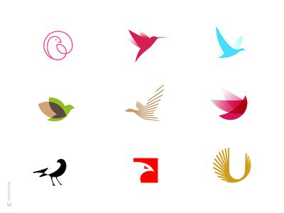 bird logo collections