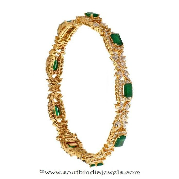 22k gold emerald bangle from prince jewellery bangles Murals Jazz Chsrcol jazz themed room decor