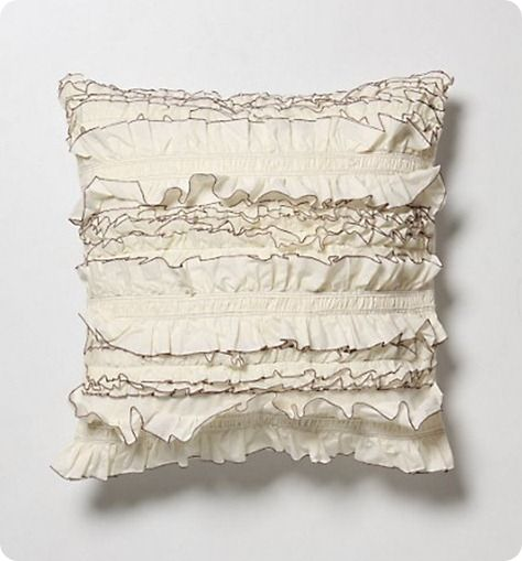 Cute Anthropologie inspired pillow to make for my bedroom
