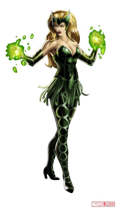 Enchantress in #Marvel: Avengers Alliance