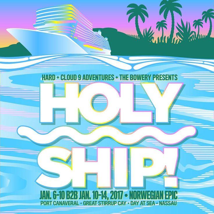 Holy Ship announces Final Schedule #holyship #ShipFam #BestFam #HolyStrip #HOLY_SHIP
