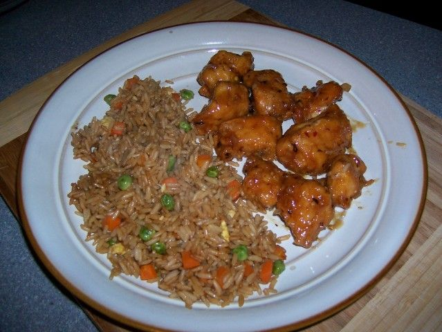 Panda Express Orange Chicken: I love this recipe When I first tried it from Panda express I fell in love it is now my favorite meal.  -AK123
