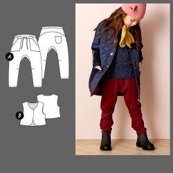 Baggy bukse og vest