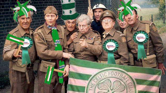 Fall in for the Champions and Hail Hail from the Dads Army CSC, Walmington-On-Sea.
