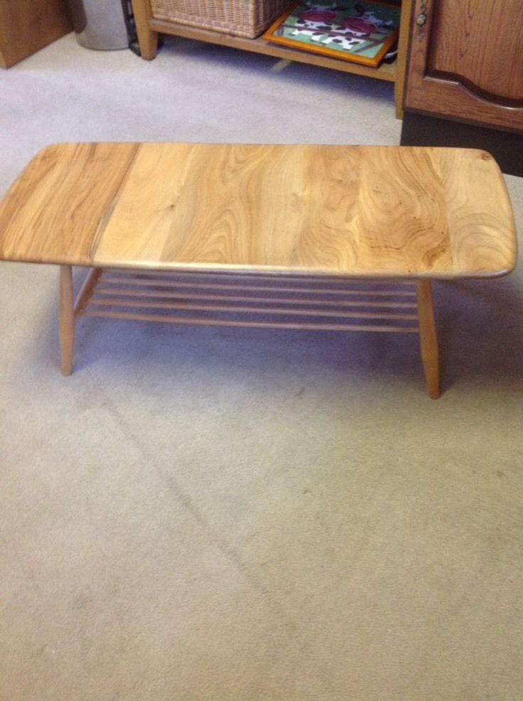 Ercol Coffee Table - Stunning// Vintage Tweaks Ebay Shop