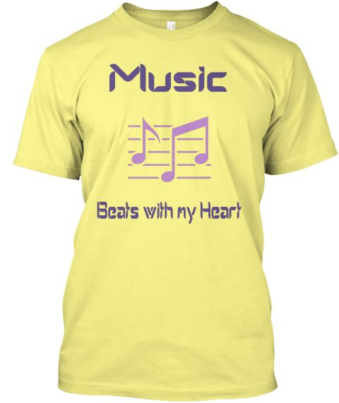 Limited Edition T -Shirt!For those who love Music from the core of their Heart! Different colours are available for both men and women!   Other T- Shirt designed by T -Shirt Realm Can be found here  https://teespring.com/stores/t-shirt-realm-phry