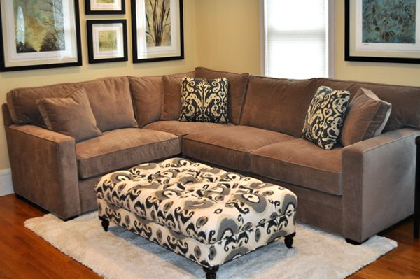 One Of The Many Fabrics That You Can Select At Boston Interiors, Atwood  Sofa And