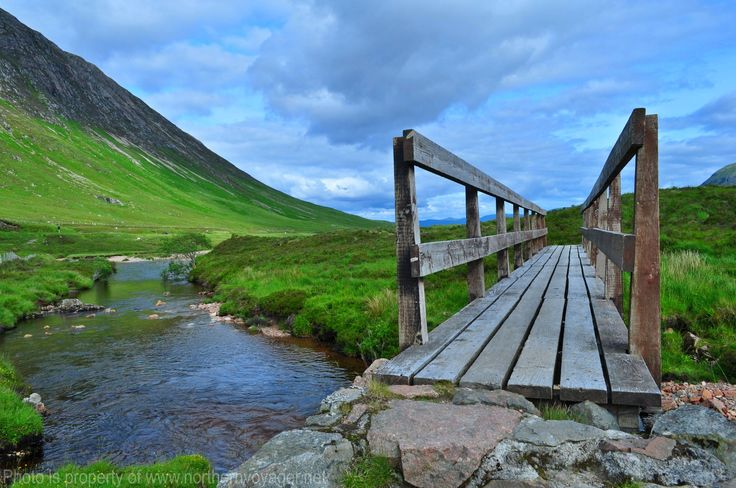 Highland Trail Bridge Scotland Glencoe Travel Photography Image www.northernvoyager.net  Photo by Lee Mailer