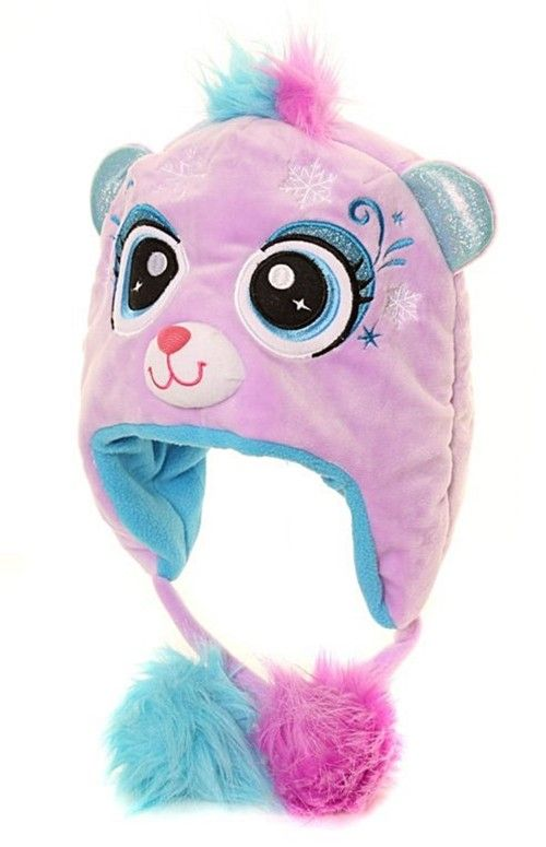 1050a090f Jiglz Cat Novelty Hat in Lilac in 2019   Hats for Winter   Kids ...