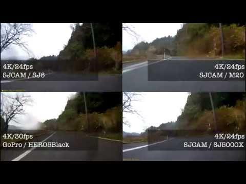 SJCAM SJ6 LEGEND 4K スポーツカメラ 02録画テスト