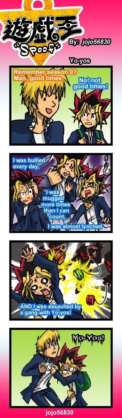 YGO Spoof: Yoyo by jojo56830 on DeviantArt