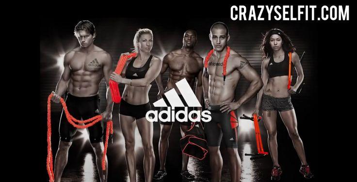 Adidas Speed Training by  Crazyselfit.com  All sportwear brands & more http://www.heavenofbrands.com/…/adidas_1/new_arrival/fitness