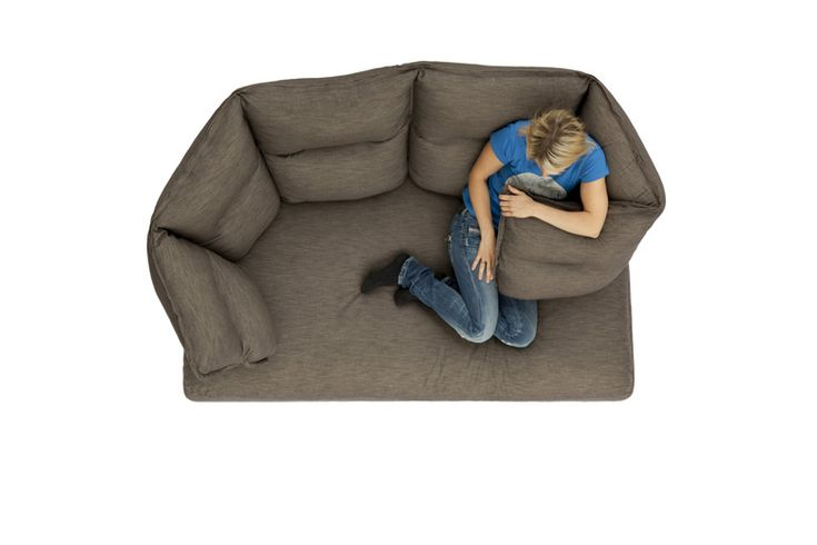 Hugging Sofa Finally Answers The Question: What's The Most Depressingly Lonely Item Money Can Buy?
