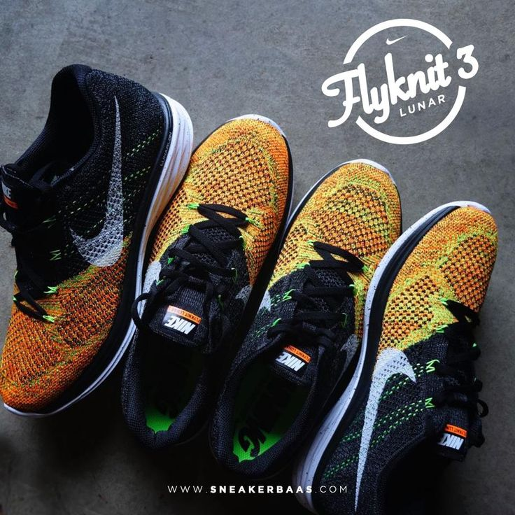 #nike #nikeflyknit nikelunar #nsw #flyknit #sneakerbaas #baasbovenbaas  Nike Lunar Flyknit 3 in three different colorways! - Now available for 159,95 Euro  For more info about your order please send an e-mail to webshop #sneakerbaas.com!