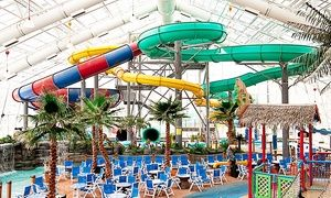 Admission for Two or Four with Sliders Restaurant Voucher at WaTiki Indoor Water Park (Up to 38% Off)