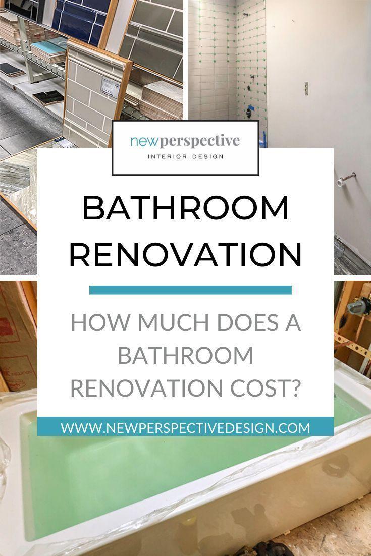 Wie Viel Kostet Ein Badezimmer Reno Neues Perspektivendesign In 2020 Bathroom Renovation Cost Bathroom Renos Bathroom Cost