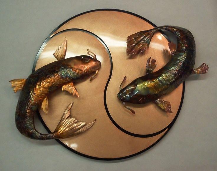 Pinterest the world s catalog of ideas for Yin yang fish