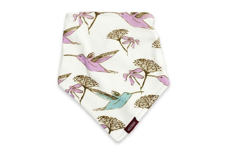 Milkbarn Zebi Baby Kerchief Bib Hummingbird