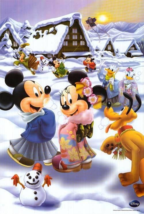 Love Mickey and Mini. I love Disney!