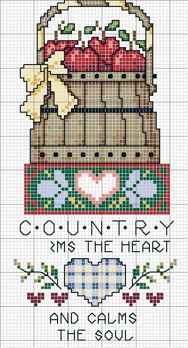 Country - cross stitch