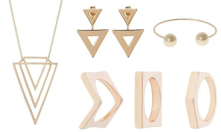 Hot Trend: Geometryczna biżuteria