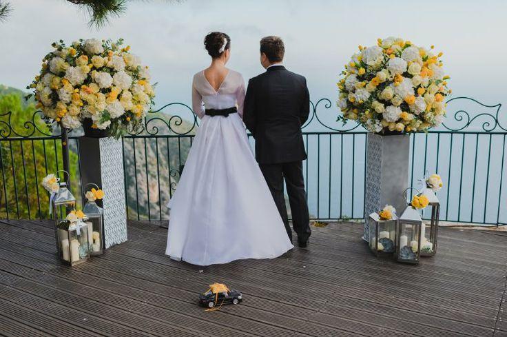 Wedding ceremony. Monaco wedding