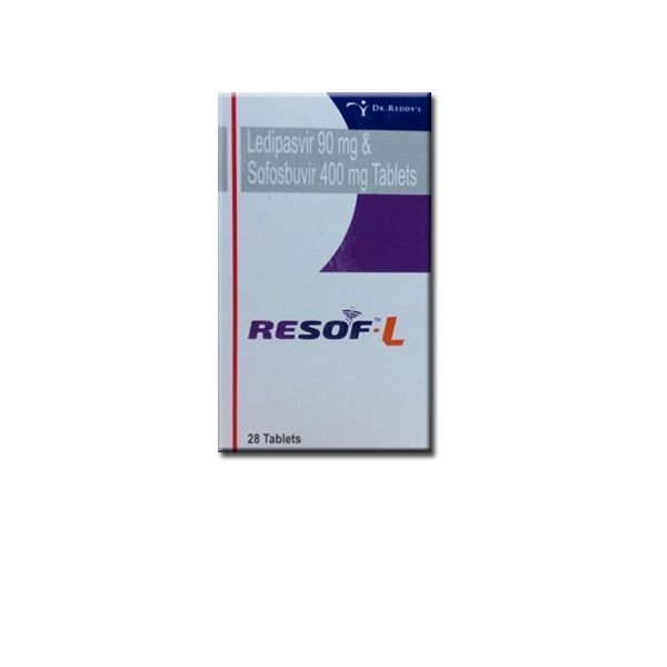 Ledipasvir and Sofosbuvir tablets which comes under the brand name Resof L available in 28 tablets pack. To collect more contact oddwayinternational +91-9873336444, QQ : 1523458453@qq.com. We offer Resof L tablets Marketed by Dr. Reddy's at low price.