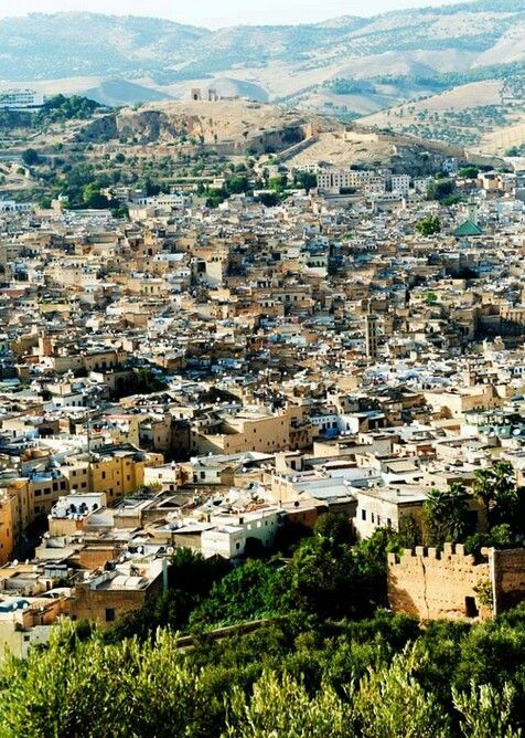 Amazing view from Fez, Morocco - Not my photo! (My trip: October 2012; My photos: http://www.flickr.com/photos/28698026@N05/sets/72157631713540460/)