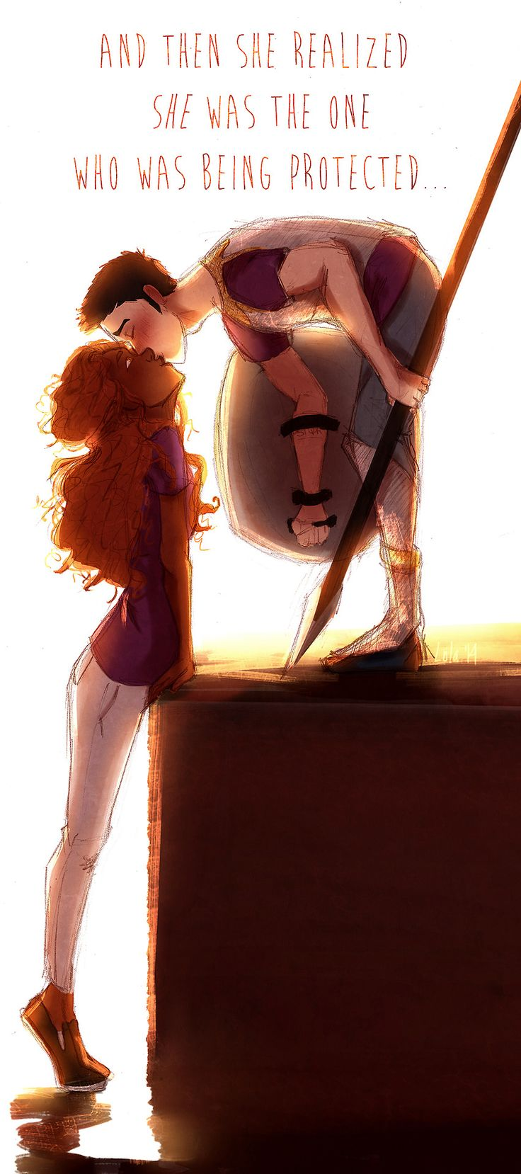 Hazel Levesque & Frank Zhang.  AHHHHH THEY ARE THE CUTEST #heroesofolympus #fanart