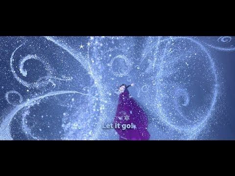 """Disney's Frozen - Sing """"Let It Go"""" along with Elsa and prepare yourself for the Sing-Along version of Frozen opening in theatres on Friday! @Theresa Colina-Ramirez"""