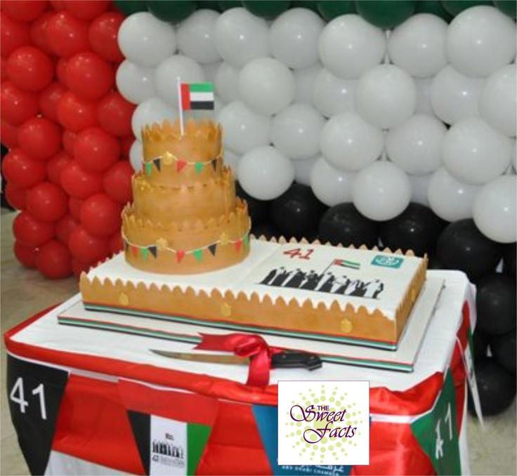 Cake Design Uae : Traditional Fort cake celebrating UAE National day ...