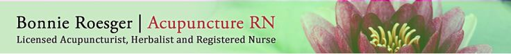 Bonnie Roesger, Acupuncture RN