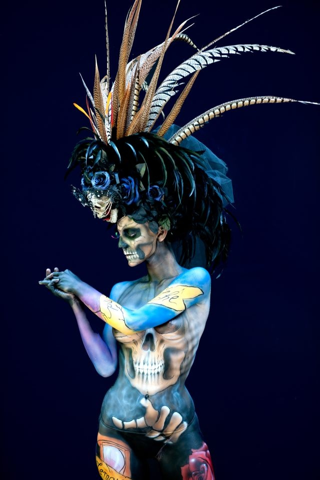 From the World Body Painting Festival (2013): Paintings Art, Paintings Festivals, Body Paintings, Paintings Smile