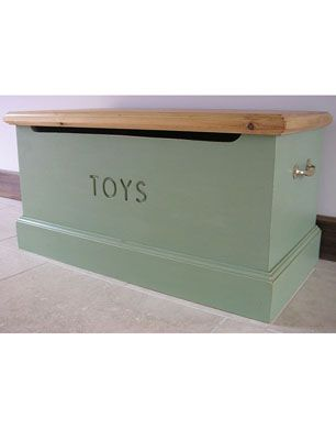Natural Wooden Toy Box but for shoes