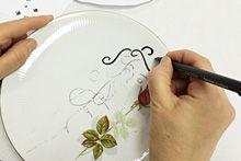 Workshop vintage servies schilderen | Van Onze Tafel