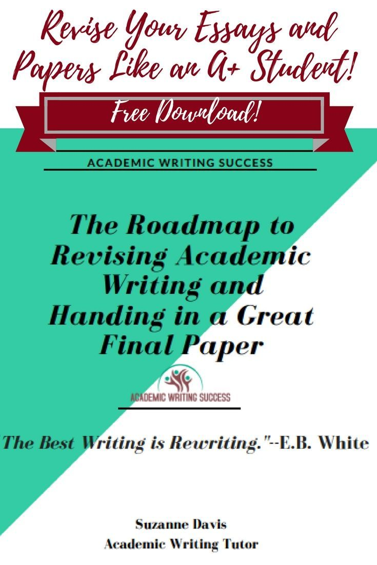 Transform your first drafts into powerful academic essays and ...
